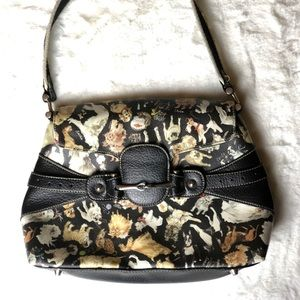 Sydney Love dog print purse